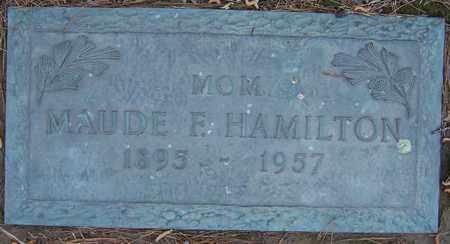 HAMILTON, MAUDE F - Hempstead County, Arkansas | MAUDE F HAMILTON - Arkansas Gravestone Photos