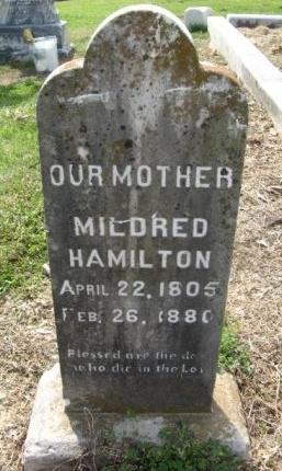 HAMILTON, MILDRED - Hempstead County, Arkansas | MILDRED HAMILTON - Arkansas Gravestone Photos