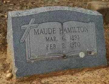 HAMILTON, MAUDE - Hempstead County, Arkansas | MAUDE HAMILTON - Arkansas Gravestone Photos