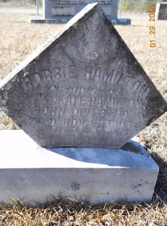 HAMILTON, ROBBIE - Hempstead County, Arkansas   ROBBIE HAMILTON - Arkansas Gravestone Photos