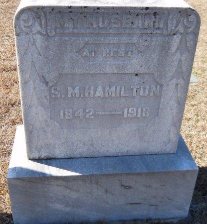 HAMILTON, S.M. - Hempstead County, Arkansas   S.M. HAMILTON - Arkansas Gravestone Photos