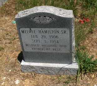 HAMILTON,SR, MELREE - Hempstead County, Arkansas   MELREE HAMILTON,SR - Arkansas Gravestone Photos