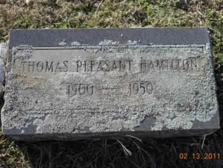 HAMILTON, THOMAS PLEASANT - Hempstead County, Arkansas | THOMAS PLEASANT HAMILTON - Arkansas Gravestone Photos