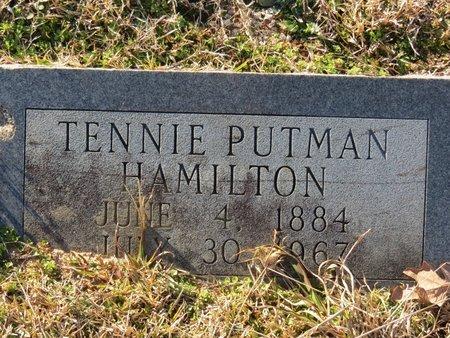 HAMILTON, TENNIE - Hempstead County, Arkansas   TENNIE HAMILTON - Arkansas Gravestone Photos