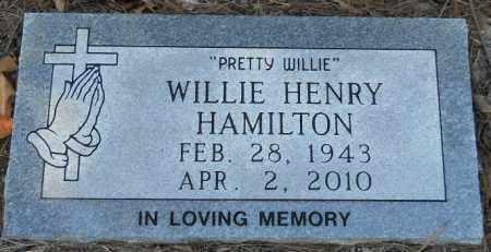 HAMILTON, WILLIE - Hempstead County, Arkansas   WILLIE HAMILTON - Arkansas Gravestone Photos