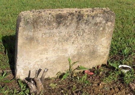 HEARD, JR, PERRY - Hempstead County, Arkansas   PERRY HEARD, JR - Arkansas Gravestone Photos