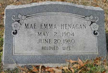 HENAGAN, MAE EMMA - Hempstead County, Arkansas | MAE EMMA HENAGAN - Arkansas Gravestone Photos