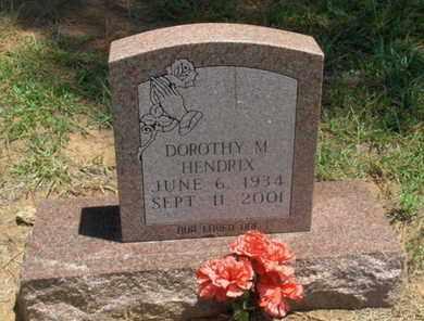 HENDRIX, DOROTHY M - Hempstead County, Arkansas | DOROTHY M HENDRIX - Arkansas Gravestone Photos