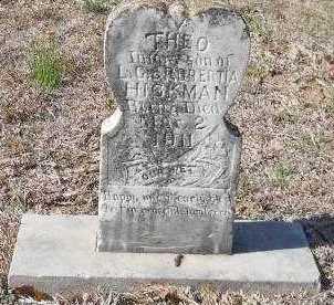 HICKMAN, THEO - Hempstead County, Arkansas   THEO HICKMAN - Arkansas Gravestone Photos