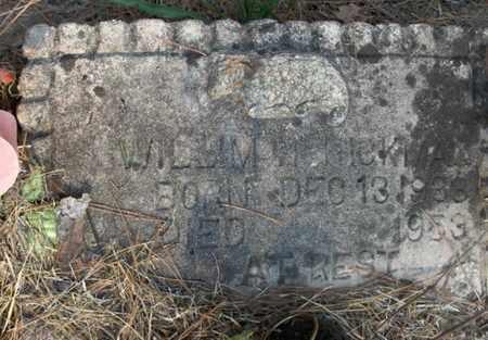 HICKMAN, WILLIM - Hempstead County, Arkansas | WILLIM HICKMAN - Arkansas Gravestone Photos