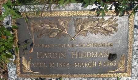 HINDMAN, HARDIN - Hempstead County, Arkansas | HARDIN HINDMAN - Arkansas Gravestone Photos