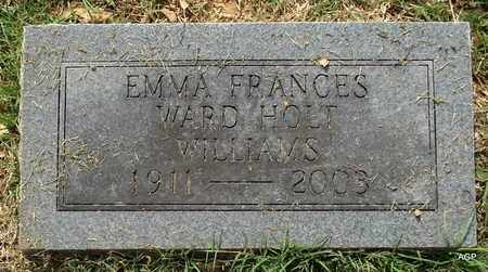 WILLIAMS, EMMA FRANCES - Hempstead County, Arkansas   EMMA FRANCES WILLIAMS - Arkansas Gravestone Photos