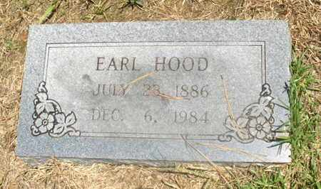 HOOD, EARL - Hempstead County, Arkansas | EARL HOOD - Arkansas Gravestone Photos