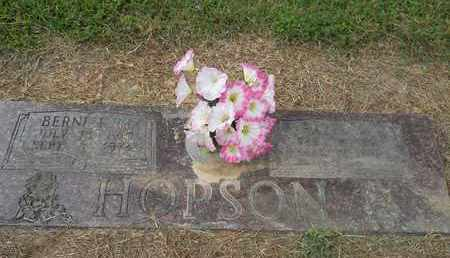 HOPSON, BERNICE G - Hempstead County, Arkansas | BERNICE G HOPSON - Arkansas Gravestone Photos