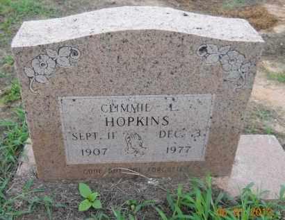 HOPKINS, CLEMMIE - Hempstead County, Arkansas   CLEMMIE HOPKINS - Arkansas Gravestone Photos