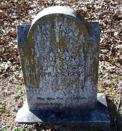 LASETER HOPSON, ADA - Hempstead County, Arkansas | ADA LASETER HOPSON - Arkansas Gravestone Photos