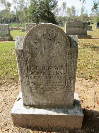 HOPSON, C.C. - Hempstead County, Arkansas   C.C. HOPSON - Arkansas Gravestone Photos
