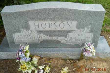 HOPSON, LOUIA - Hempstead County, Arkansas | LOUIA HOPSON - Arkansas Gravestone Photos