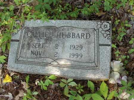 HUBBARD, CALLIE - Hempstead County, Arkansas   CALLIE HUBBARD - Arkansas Gravestone Photos