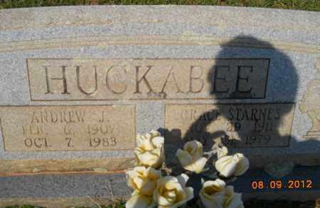 HUCKABEE, ANDREW J - Hempstead County, Arkansas   ANDREW J HUCKABEE - Arkansas Gravestone Photos