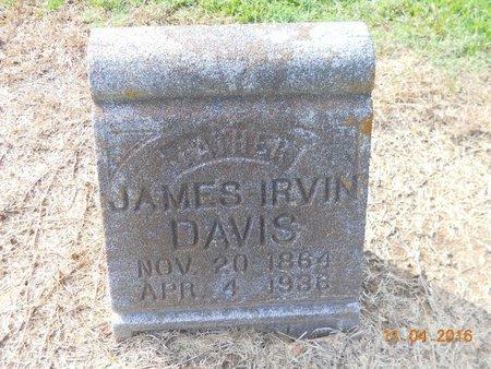 DAVIS, JAMES IRVIN - Hempstead County, Arkansas | JAMES IRVIN DAVIS - Arkansas Gravestone Photos