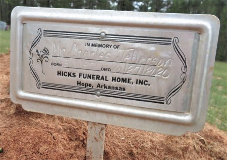 JEFFERSON, CHARLES - Hempstead County, Arkansas   CHARLES JEFFERSON - Arkansas Gravestone Photos