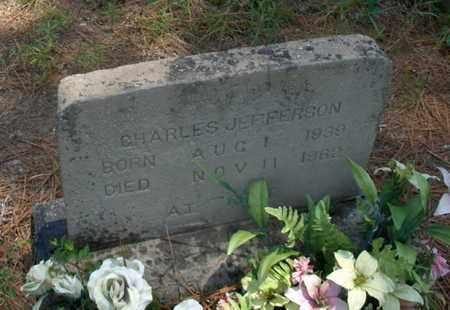 JEFFERSON, CHARLES - Hempstead County, Arkansas | CHARLES JEFFERSON - Arkansas Gravestone Photos