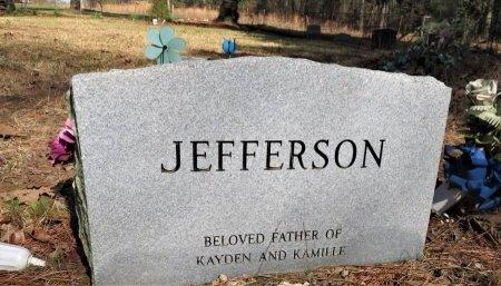 JEFFERSON, DAVID WARREISE (BACKVIEW) - Hempstead County, Arkansas | DAVID WARREISE (BACKVIEW) JEFFERSON - Arkansas Gravestone Photos