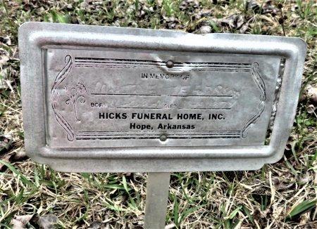 JEFFERSON, JOE W. - Hempstead County, Arkansas | JOE W. JEFFERSON - Arkansas Gravestone Photos