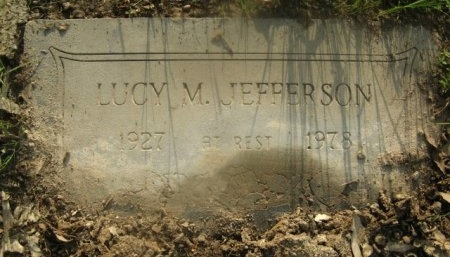 JEFFERSON, LUCY M - Hempstead County, Arkansas   LUCY M JEFFERSON - Arkansas Gravestone Photos
