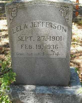 JEFFERSON, LELA - Hempstead County, Arkansas | LELA JEFFERSON - Arkansas Gravestone Photos