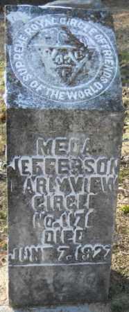 JEFFERSON, MEDA - Hempstead County, Arkansas   MEDA JEFFERSON - Arkansas Gravestone Photos