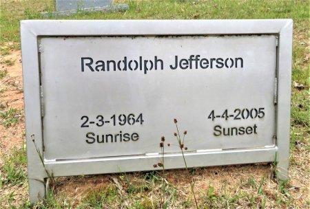 JEFFERSON, RANDOLPH - Hempstead County, Arkansas | RANDOLPH JEFFERSON - Arkansas Gravestone Photos