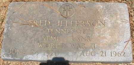 JEFFERSON  (VETERAN WW II), FRED - Hempstead County, Arkansas | FRED JEFFERSON  (VETERAN WW II) - Arkansas Gravestone Photos