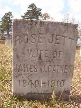 GAINES, ROSE - Hempstead County, Arkansas | ROSE GAINES - Arkansas Gravestone Photos