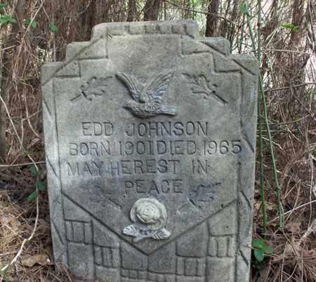 JOHNSON, EDD - Hempstead County, Arkansas | EDD JOHNSON - Arkansas Gravestone Photos