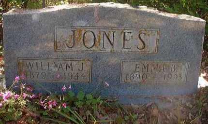 JONES, WILLIAM J - Hempstead County, Arkansas   WILLIAM J JONES - Arkansas Gravestone Photos