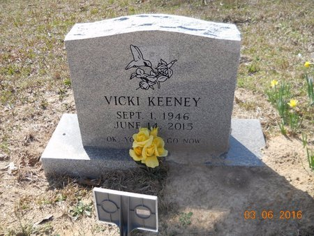COLEMAN KEENEY, VICKI - Hempstead County, Arkansas | VICKI COLEMAN KEENEY - Arkansas Gravestone Photos
