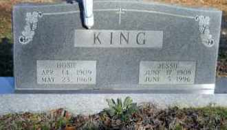 KING, HOSIE - Hempstead County, Arkansas | HOSIE KING - Arkansas Gravestone Photos