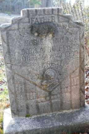 KING, HOSIE - Hempstead County, Arkansas   HOSIE KING - Arkansas Gravestone Photos