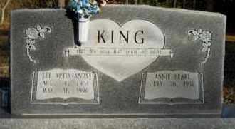 KING, LEE ARTIS (ANDY) - Hempstead County, Arkansas | LEE ARTIS (ANDY) KING - Arkansas Gravestone Photos