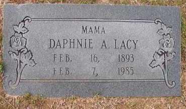LACY, DAPHNIE A - Hempstead County, Arkansas | DAPHNIE A LACY - Arkansas Gravestone Photos