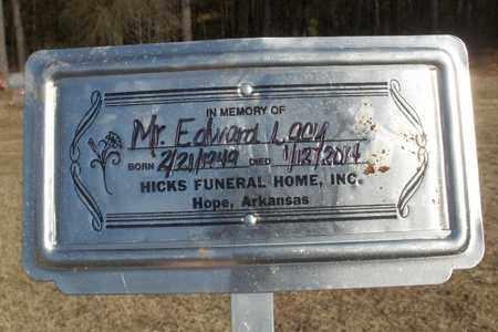 LACY, EDWARD LOUIS - Hempstead County, Arkansas | EDWARD LOUIS LACY - Arkansas Gravestone Photos