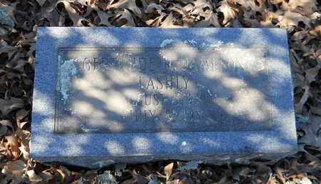 RICHARDSON LASHLY, GERTRUDE - Hempstead County, Arkansas   GERTRUDE RICHARDSON LASHLY - Arkansas Gravestone Photos