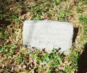 MAXWELL, BENJIMAN - Hempstead County, Arkansas | BENJIMAN MAXWELL - Arkansas Gravestone Photos