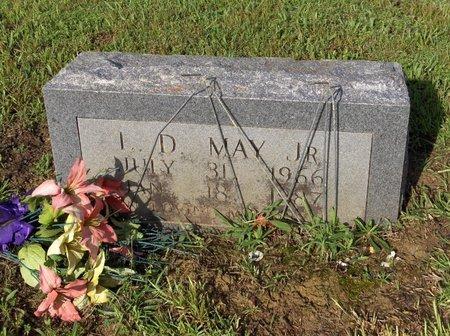 MAY, JR, L D - Hempstead County, Arkansas   L D MAY, JR - Arkansas Gravestone Photos