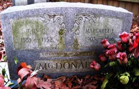 MCDONALD, JOHN C - Hempstead County, Arkansas   JOHN C MCDONALD - Arkansas Gravestone Photos