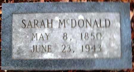 PRICE MCDONALD, SARAH - Hempstead County, Arkansas   SARAH PRICE MCDONALD - Arkansas Gravestone Photos