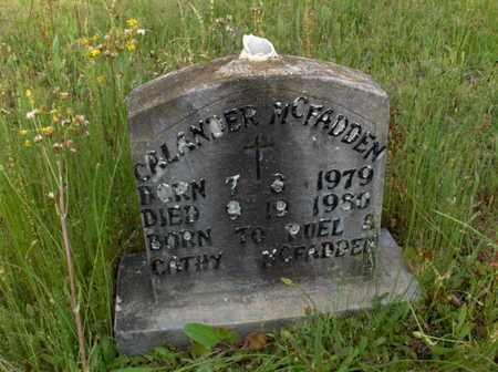 MCFADDEN, CALANDER - Hempstead County, Arkansas | CALANDER MCFADDEN - Arkansas Gravestone Photos