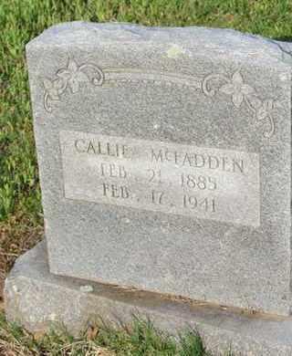 MCFADDEN, CALLIE - Hempstead County, Arkansas   CALLIE MCFADDEN - Arkansas Gravestone Photos